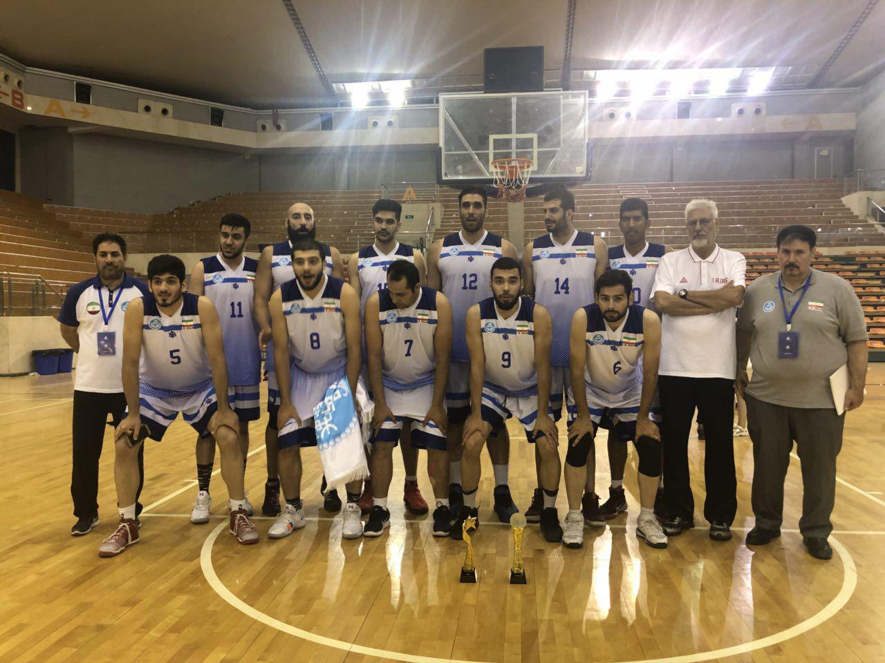 تیم بسکتبال دانشگاه تهران قهرمان رقابت های دانشگاهی شد