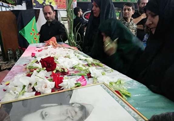 باشگاه خبرنگاران -تشییع پیکر شهید تازه تفحص شده دوران دفاع مقدس در گلستان