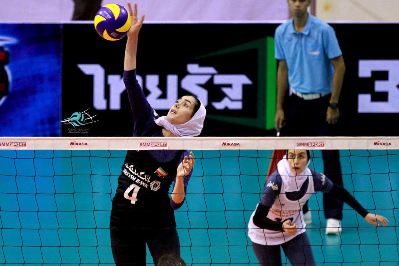 تیم والیبال بانوان ایران با شکست مقابل استرالیا هشتم آسیا شد
