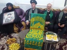 کانون خادمیاری خانواده شهدا در گلزار شهدای بهشت رضا (ع) مشهد افتتاح شد