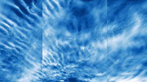 ناسا تصاویری از ابرهای نادر آبی رنگ را ثبت کرد