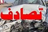 دو کشته و سه مصدوم در دو حادثه تصادف در شهرضا