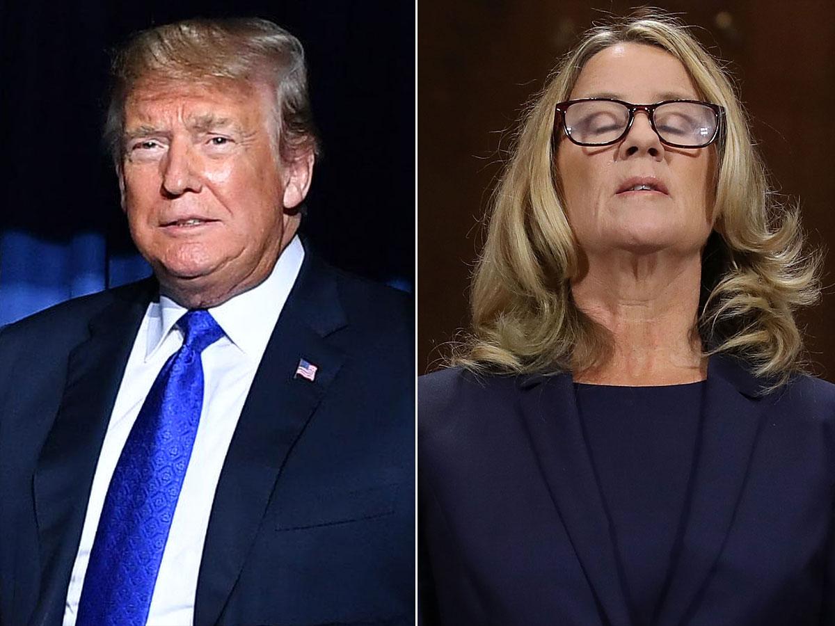 ترامپ یک قربانی تعرض جنسی را مورد تمسخر قرار داد