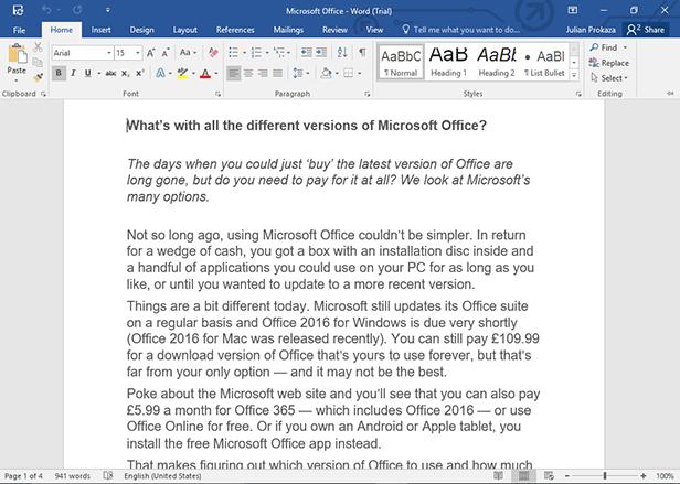 چگونه کار با مایکروسافت ورد (Microsoft Word) را آغاز کنیم؟ +آموزش تصویری