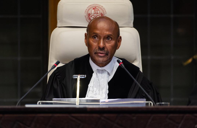 جلسه دادگاه لاهه برای صدور حکم درباره شکایت ایران از آمریکا اغاز شد