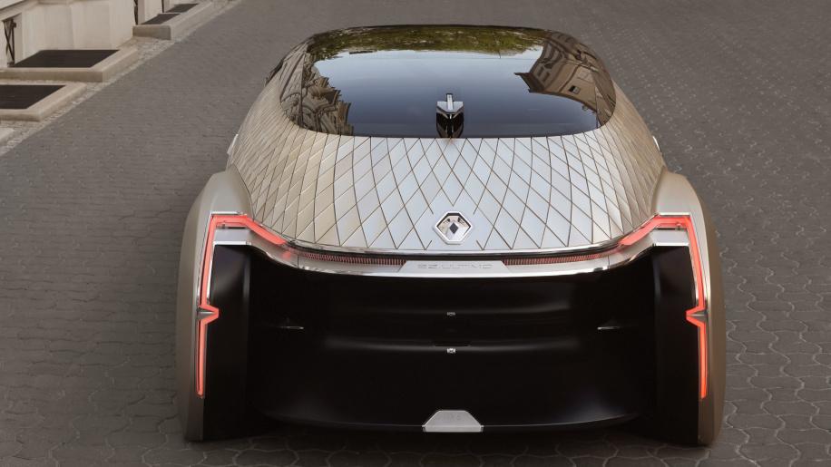 تاکسی لوکس شما، رنو EZ-Ultimo، از آینده آمده است + تصاویر