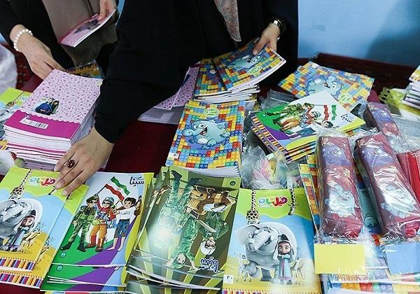 توزیع ۶ هزار بسته نوشتافزار ایرانی در میان دانشآموزان محروم تهرانی