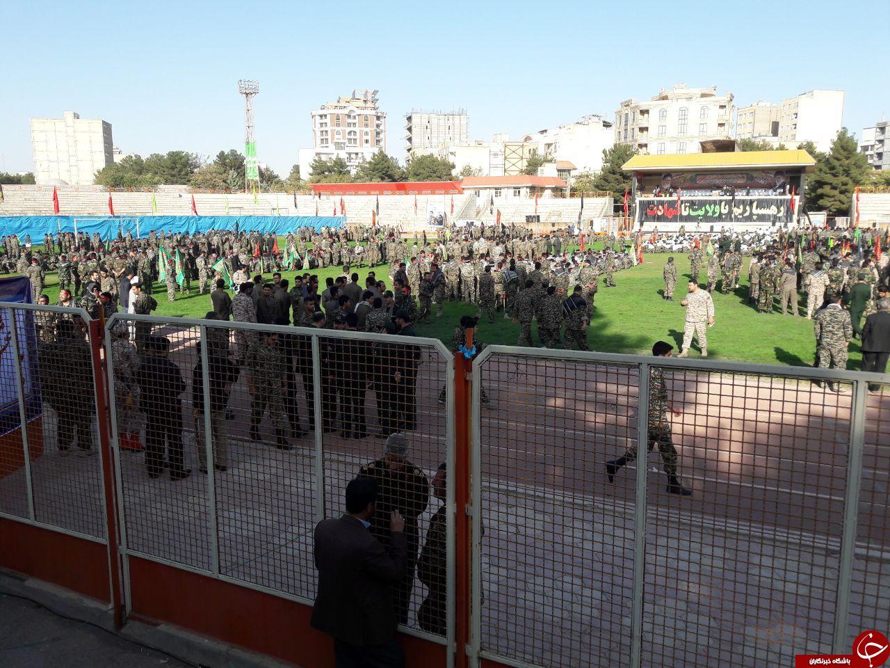 برگزاری اجتماع پرشور اقتدار عاشورایی در کرمانشاه