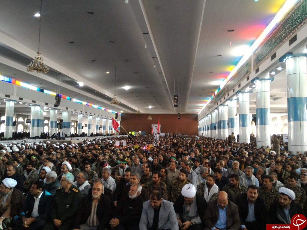 آغاز همایش بزرگ سپاهیان محمد رسولالله(ص) در کرمان + تصاویر