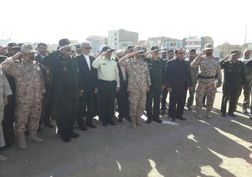 برگزاری همایش ۲۵۰۰۰ نفری بسیجیان سیستان و بلوچستان در زاهدان