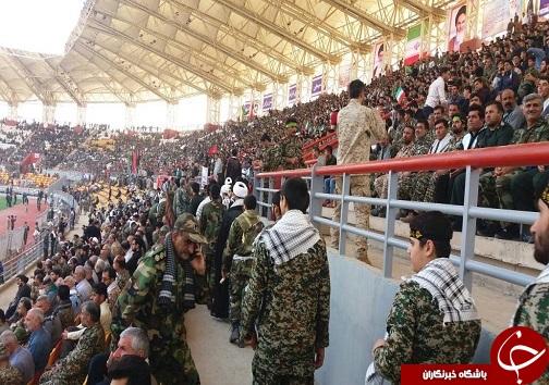 آغاز اجتماع بسیجیان خوزستان