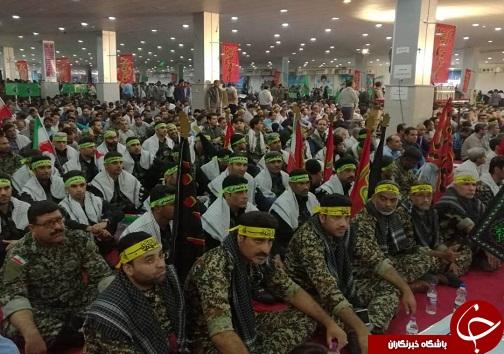 آغاز تجمع ۲۰ هزار نفری بسیج سپاهیان محمد رسول الله ۲ در بندرعباس