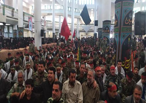 حماسه اقتدار عاشورایی بسیجیان در زنجان آغاز شد.