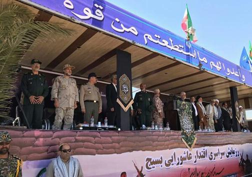 برگزاری همایش ۲۵۰۰۰ نفری بسیجیان سیستان و بلوچستان در زاهدان + عکس