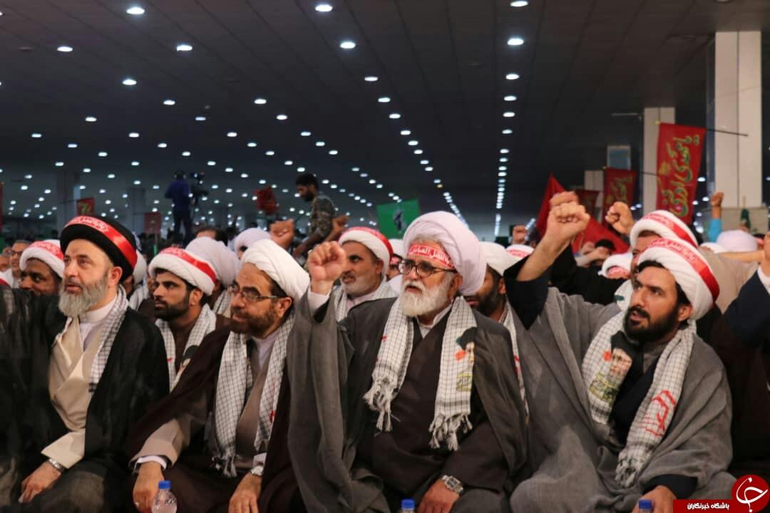 آغاز تجمع ۲۰ هزار نفری بسیج سپاهیان محمد رسول الله ۲ در بندرعباس+تصاویر