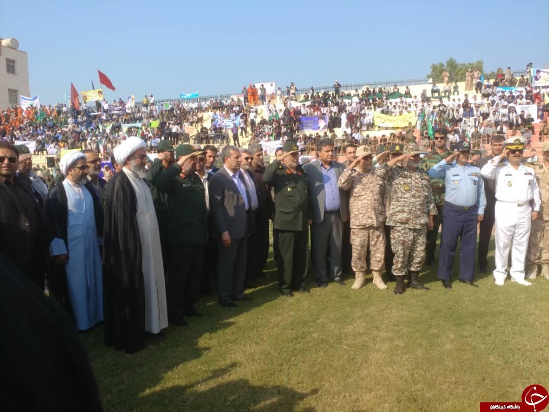 رزمایش اقتدار عاشورایی بسیج سپاهیان محمد رسول الله(ص) در بوشهر برگزار شد