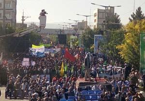 برگزاری همایش اقتدار ۲۰ هزار بسیجی در بجنورد