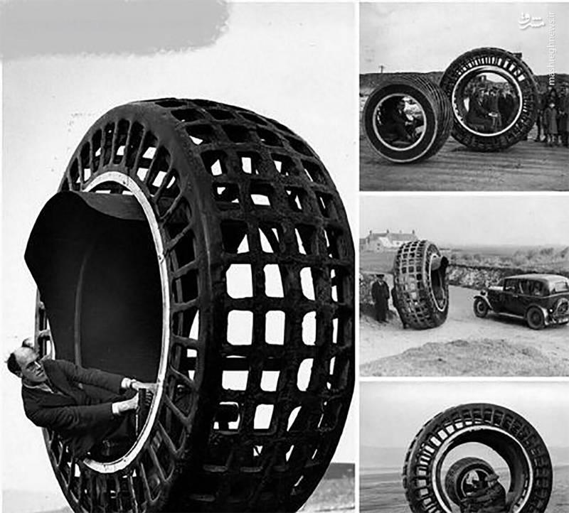 ماشینی عجیب متعلق به سال 1930+ تصویر