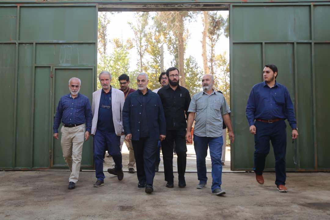 آغاز فیلمبرداری «آن بیست و سه نفر» با حضور سردار سلیمانی
