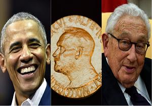 مقامات آمریکایی در میان جنجالیترین برندگان صلح نوبل/ برندگان صلح نوبلی که شایسته دریافت آن نبودند