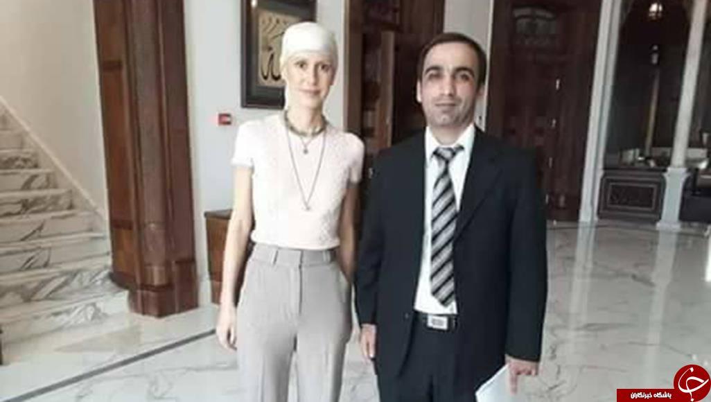 ظاهر متفاوت همسر بشار اسد+ تصاویر
