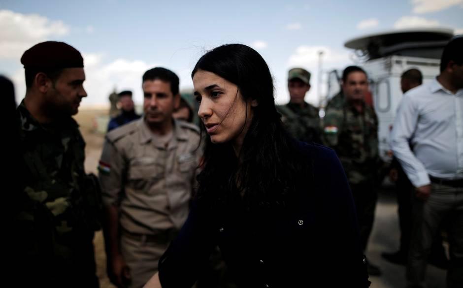 سیر تا پیاز زندگی دختری که از زندان داعش به جایزهای جهانی رسید تصاویر
