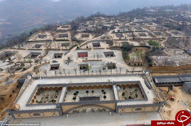 خانه های عجیبی که فقط در چین دیده می شود+تصاویر
