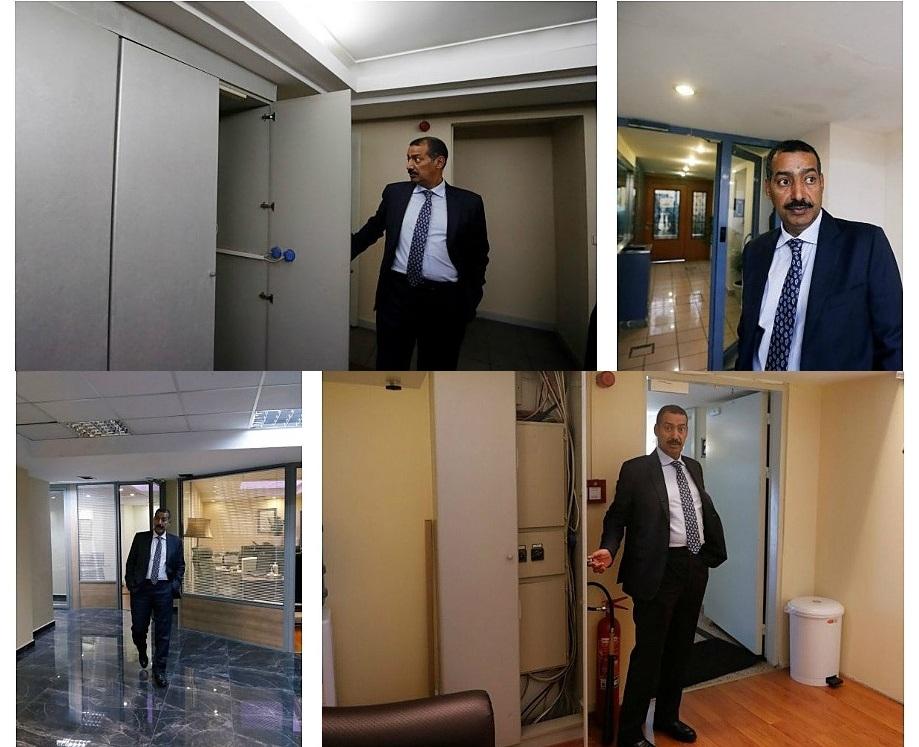 بازدید خبرنگاران از کنسولگری عربستان سعودی در استانبول