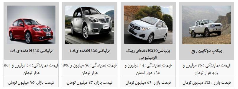 کاهش یک تا 5 میلیون تومانی قیمت محصولات پارس خودرو