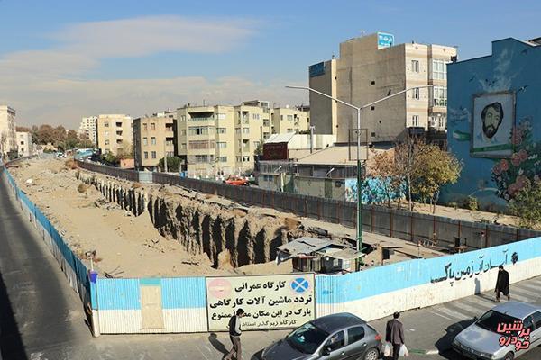 کاظمی/ مسیر جنوب به شمال استاد معین بسته میشود/ افتتاح زیرگذر در شش ماهه اول 98