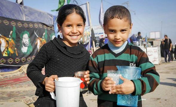 آموزش خدمت به زائران حسینی در مهدکودکهای عراق +فیلم