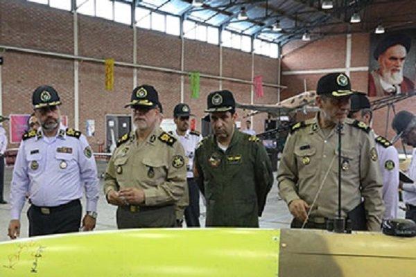 جانشین فرمانده کل از یگان پهپادی قرارگاه پ ند هوایی خاتم الانبیا(ص) بازدید کرد