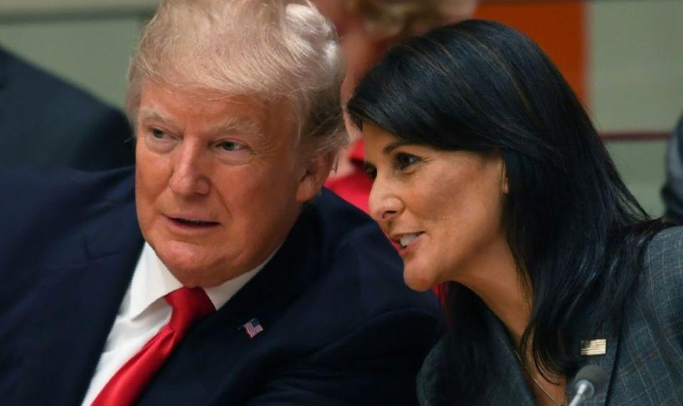 سریال دنباله دار استعفاها در کاخ سفید/ ترامپ با استعفای نیکی هیلی موافقت کرد