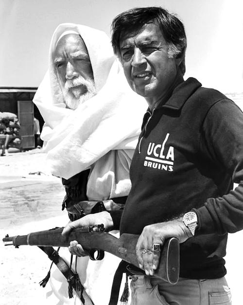تصویری از پشت صحنه فیلم محمد رسولالله