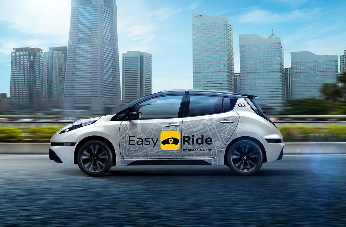 نیسان، تاکسی بدون راننده خود را راه اندازی میکند +فیلم