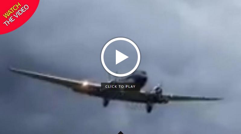 مهارت دیدنی خلبان در فرود هواپیما + فیلم//