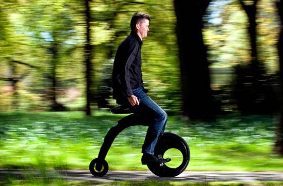 دوچرخه الکتریکی تاشو +فیلم و عکس