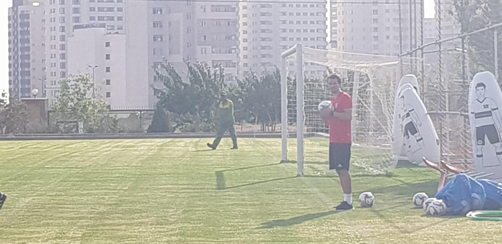 پیگیری تمرین تیم ملی فوتبال در روز غیبت دژاگه و پورعلی گنجی