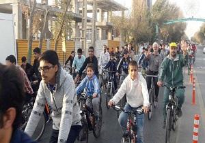 همایش دوچرخهسواری پنجشنبههای یزد به ایستگاه 125 رسید
