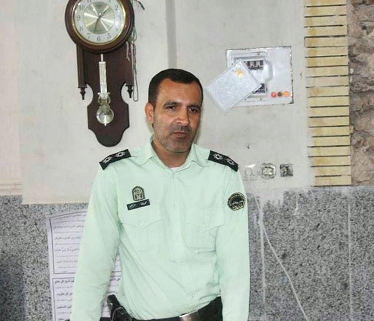 شادت سرباز امنیت در جیرفت