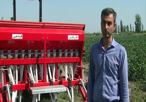 تولید ادوات کشاورزی بومی به دست متخصصان گلستانی