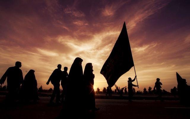 شورحسینی در کاروان طولانیترین پیادهروی اربعین+ فیلم