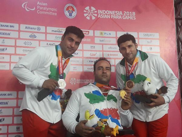 کسب مدال طلای ورزشکار فارس در بازیهای پارآسیایی