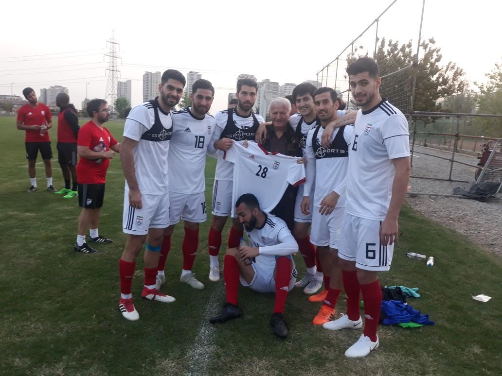 پیراهن شماره ۲۸ تیم ملی به مربی سابق تیم های پایه رسید