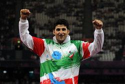 محمد خالوندی مدال برنز مسابقات آسیایی جاکارتا بر گردن آویخت
