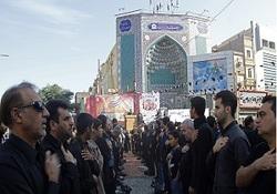 وداع باشکوه مردم خوزستان با پیکرهای پاک شهدای حادثه تروریستی اهواز + فیلم و تصاویر