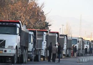 اعتصاب کامیونداران سراسری نبود/ مشکل لاستیک کامیونداران هنوز حل نشده است