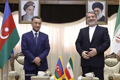 باشگاه خبرنگاران -دیدار وزرای کشور جمهوری آذربایجان و ایران