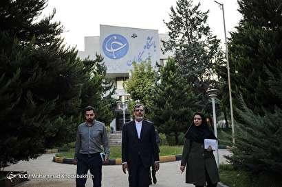 باشگاه خبرنگاران -بازدید حسین جابری انصاری از باشگاه خبرنگاران جوان