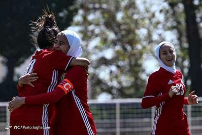 باشگاه خبرنگاران -دیدار دوستانه تیم ملی فوتبال جوانان بانوان ایران و اردن